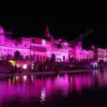Lit up ghats, disinfection drives, security checks — Ayodhya readies for Ram temple event