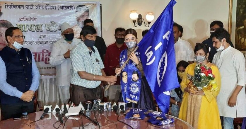 Actor Payal Ghosh, who accused Anurag Kashyap of rape, joins Ramdas Athawale's party