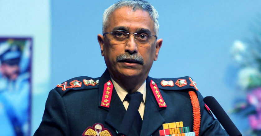 Army chief Naravane on Northeast visit to review security situation, briefed on Naga talks